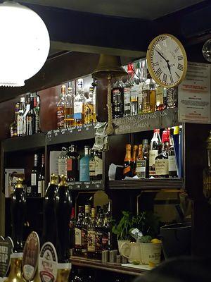 A déguster avec modération  --  Free Press Pub, Cambridge