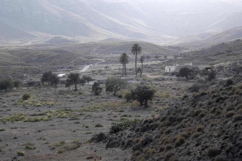 A espaldas de el Playazo ( Almeria )
