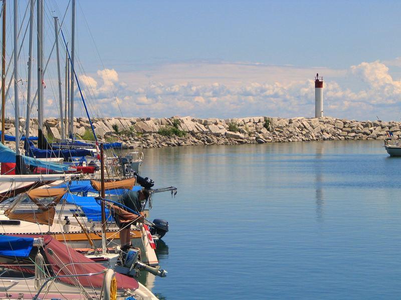 a Georgian Bay marina