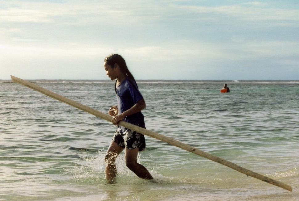 A girl in Vanuatu