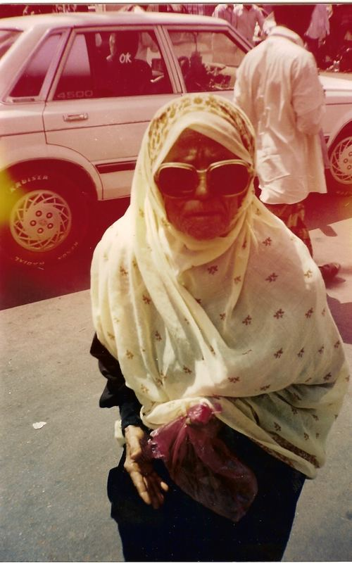 a grandma in Aden