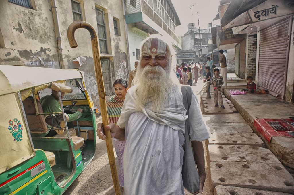 A Guru with Staff