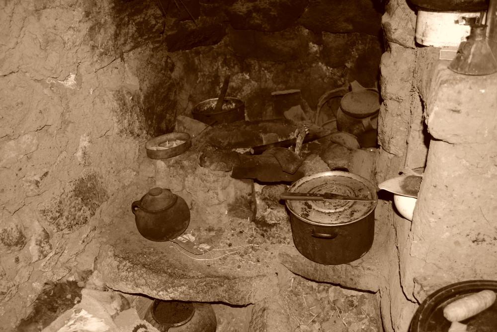 A kitchen in Puno Peru