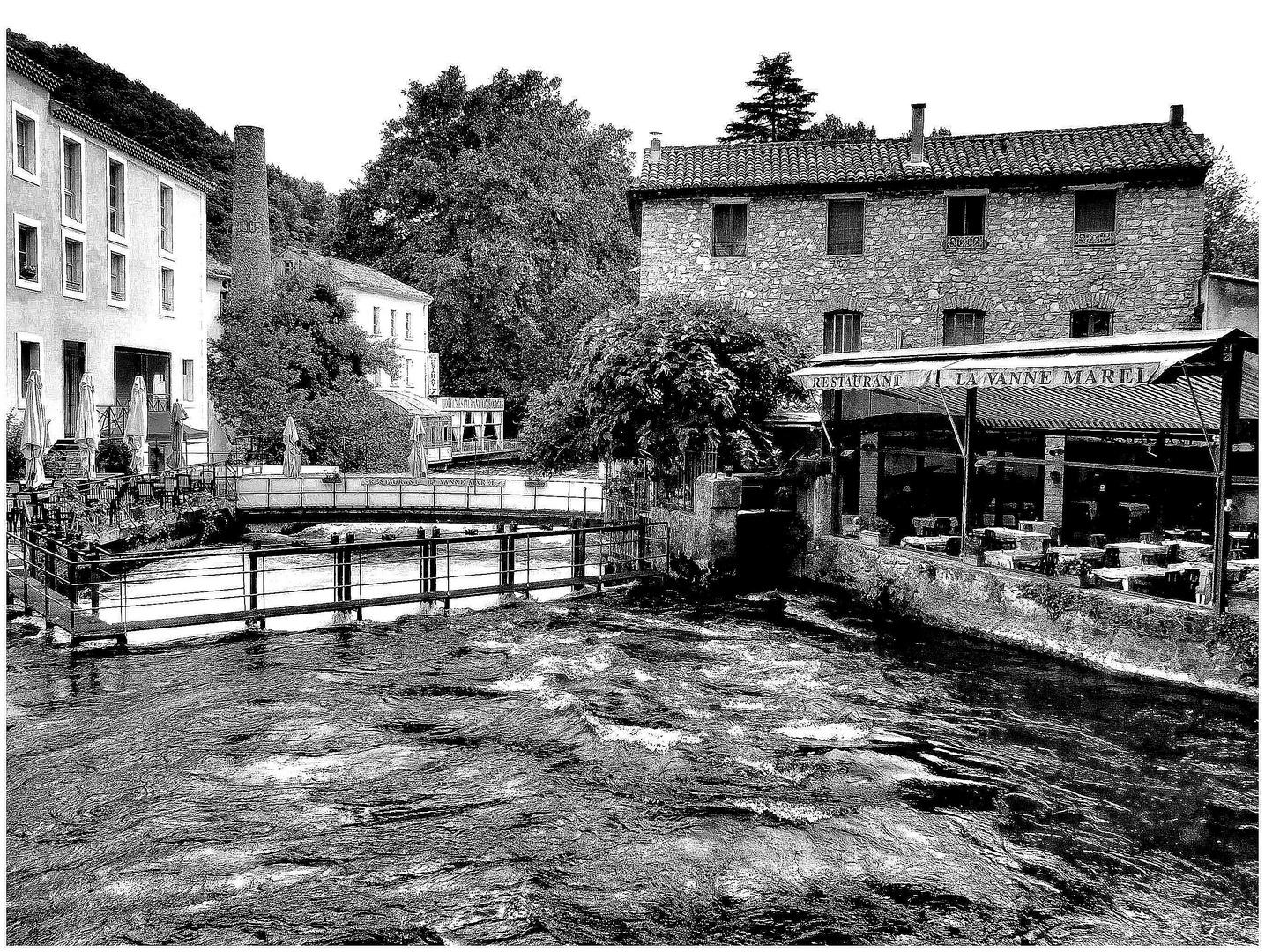 A la Fontaine de Vaucluse