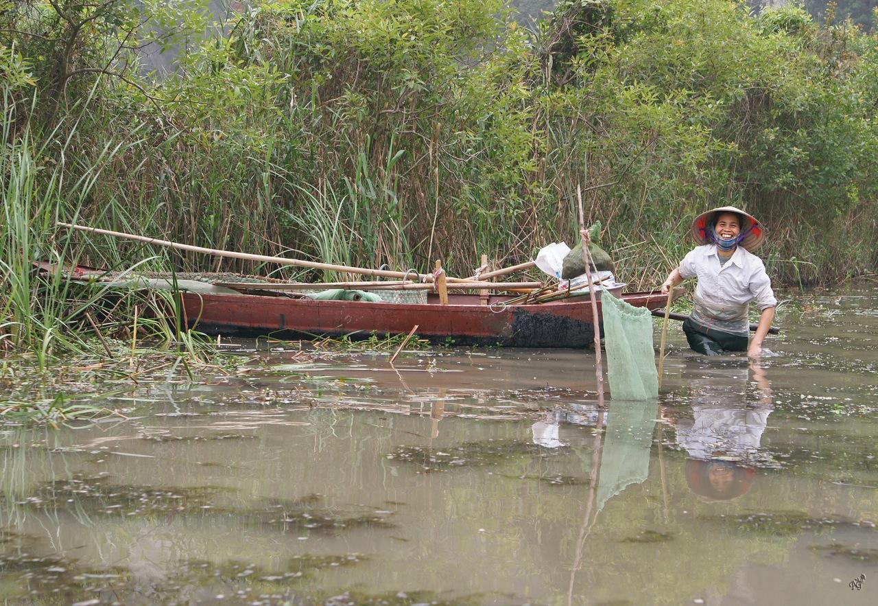 A la pêche aux crevettes