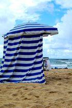 à la plage...