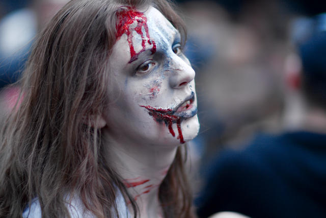 A la zombie walk de Paris