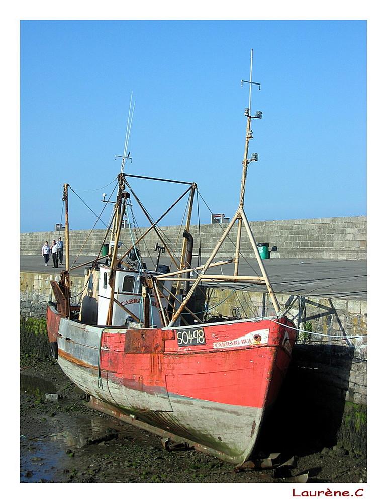 A l'abandon, le bateau un jour voguera-t-il a nouveau ?