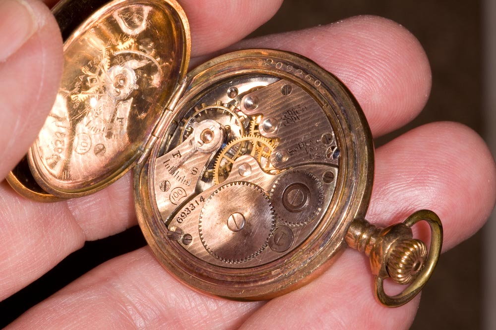 A Lady's antique pendant watch