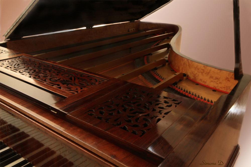 A l'intérieur du piano