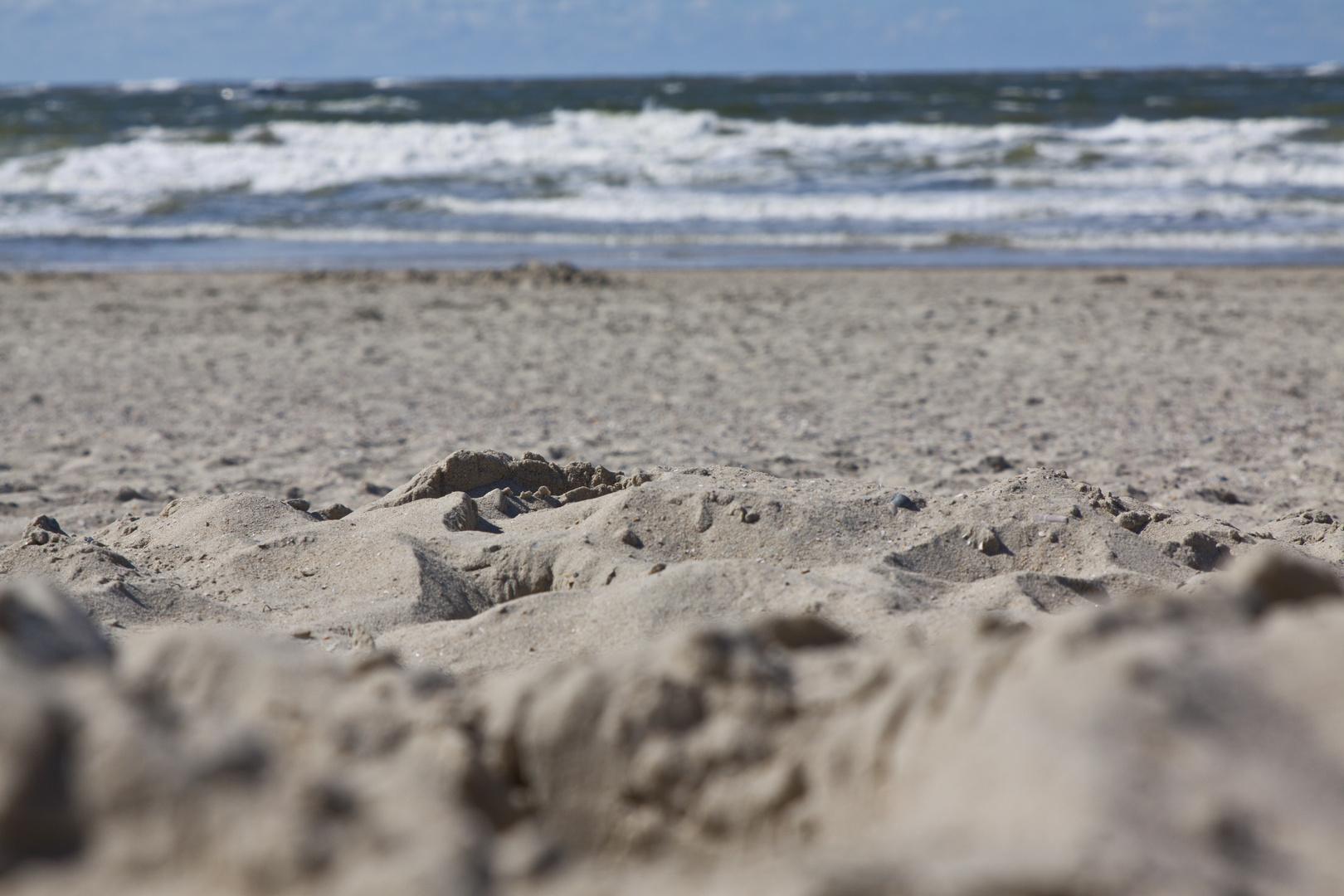 A little bit sandy over here ...