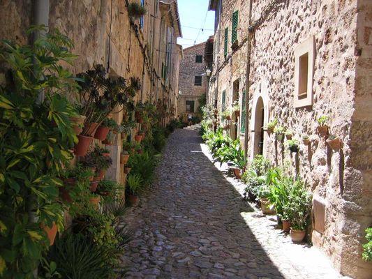 A little lane of Mallorca....