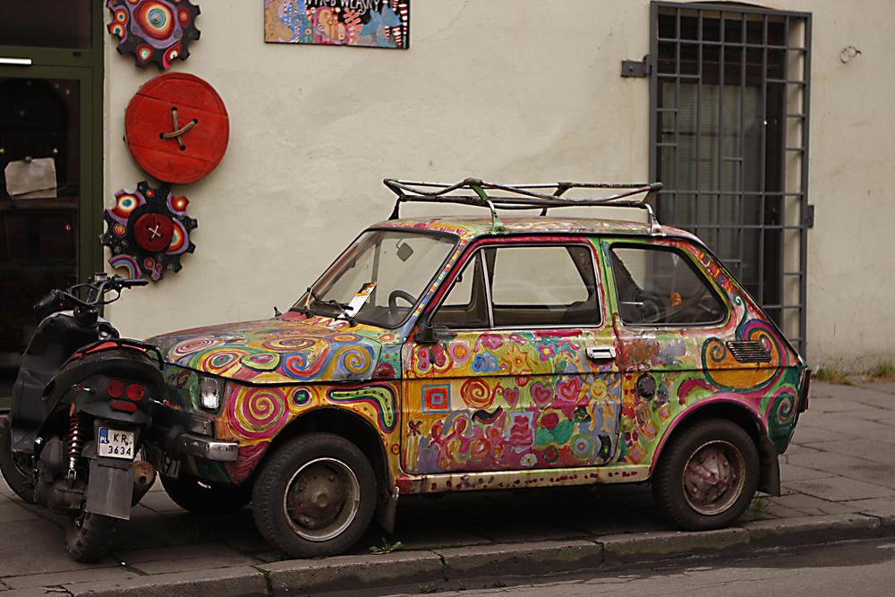 A LITTLE OLD POLISH FIAT