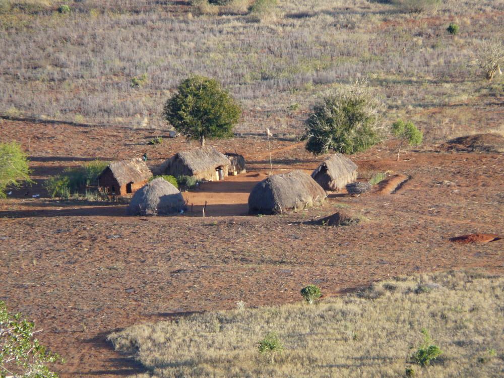 A little village in Tsavo-East