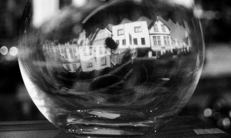 a look inside a small town within a fishbowl, it`s a mysterious world for a little boy