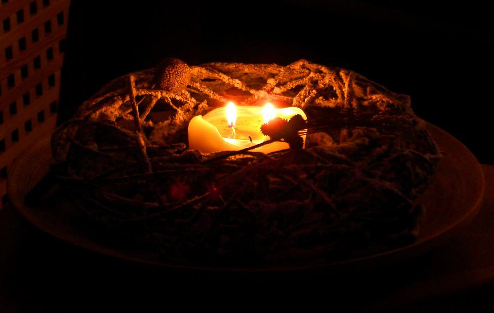 ...a lume di candela...