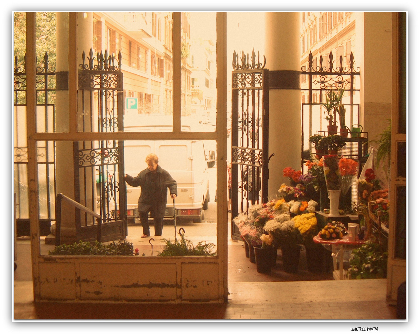 A Market near Via Germanico