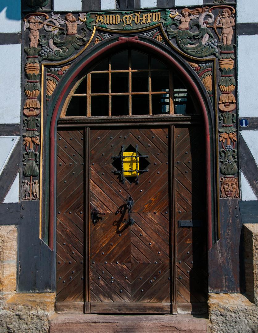 A Medieval Door