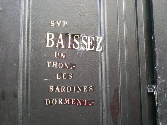 A Montmartre ...