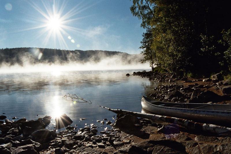 A Morning At Lake Lelång