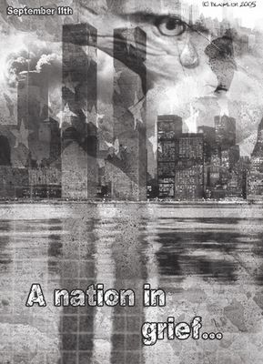 A nation in grief....