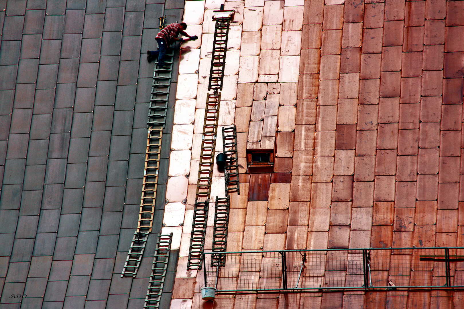 A New Copper Roof