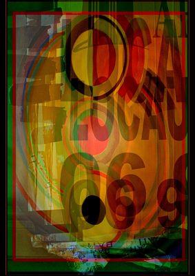 A partir de la peinture précédente de Sonia Delaunay....
