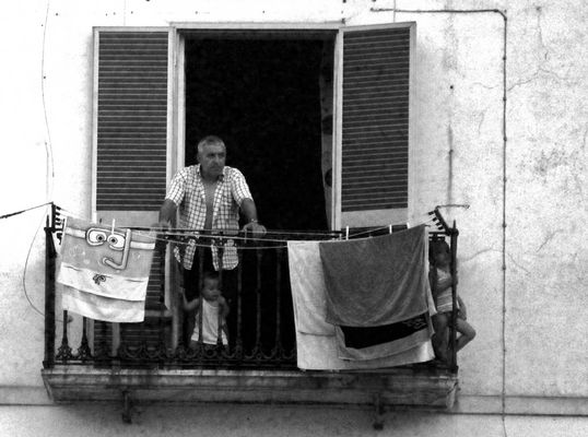 A people at the window 1