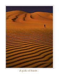 A piedi nel deserto