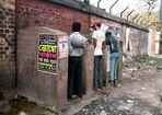 A public luxury convenience in Kolkata