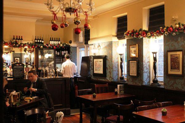 a pub....somewhere in London