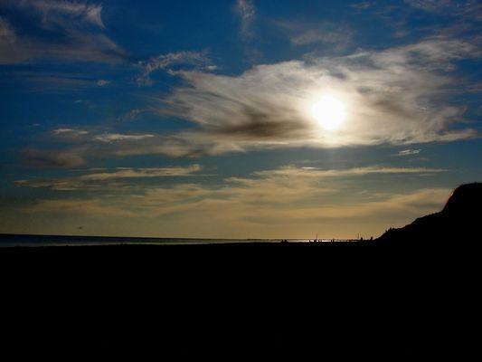 A quelques heures du coucher de soleil