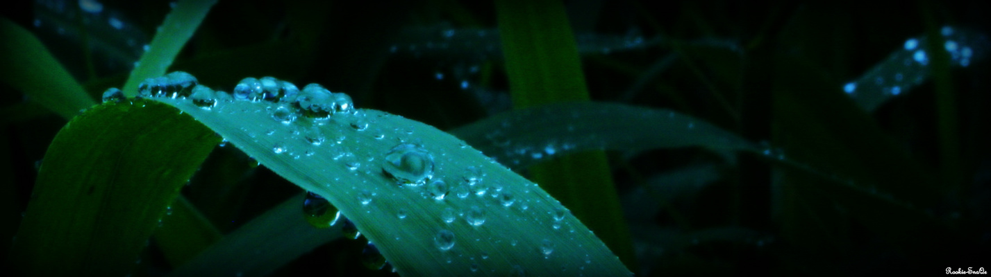 A raindrop is no waterfall?