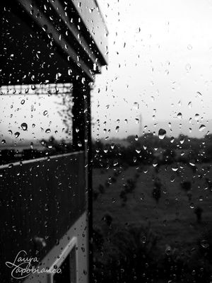 A raining day
