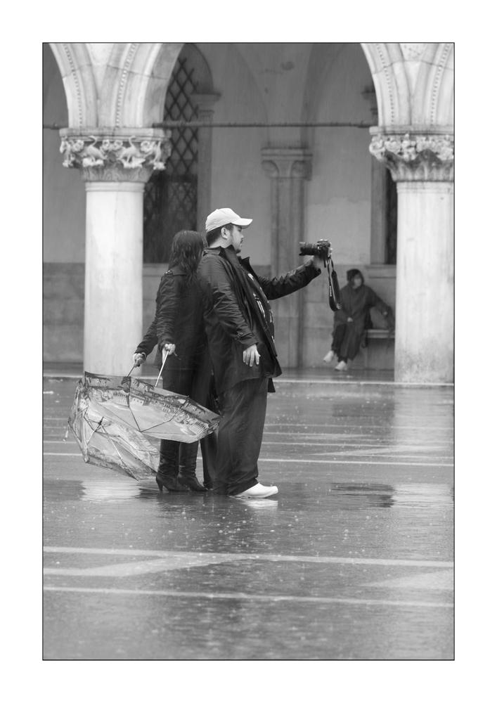 a rainy day in Venice III