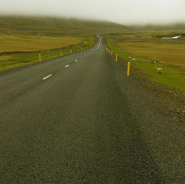 ...a road...