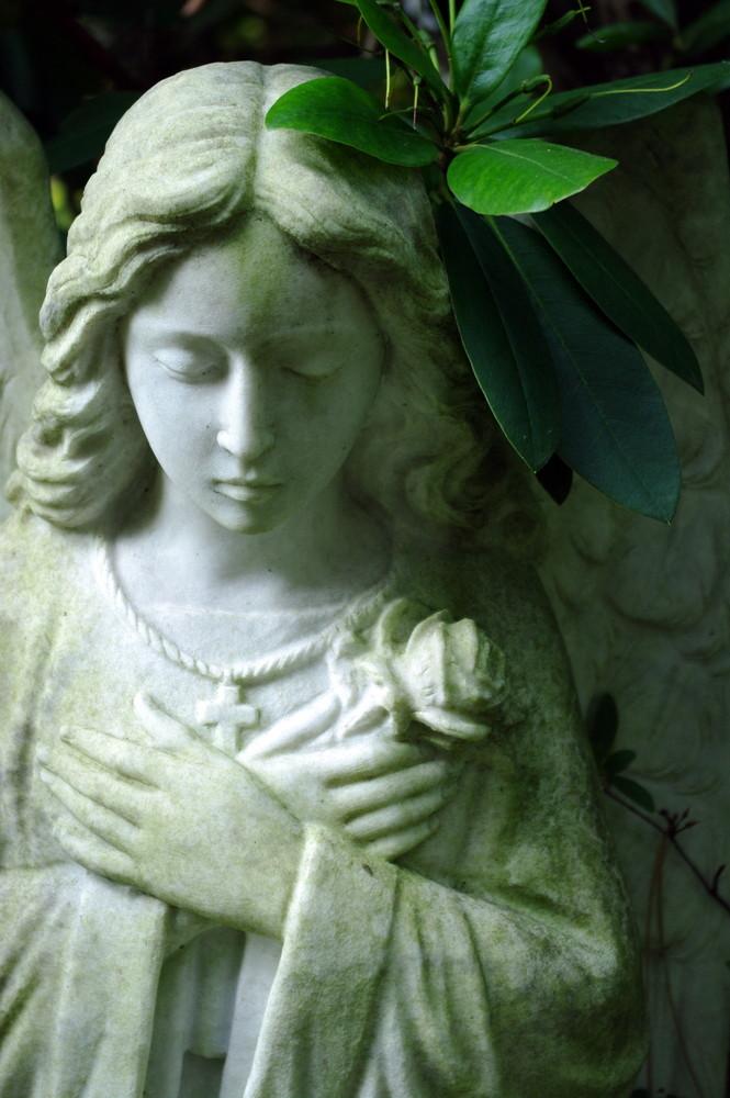 A secret graveyard