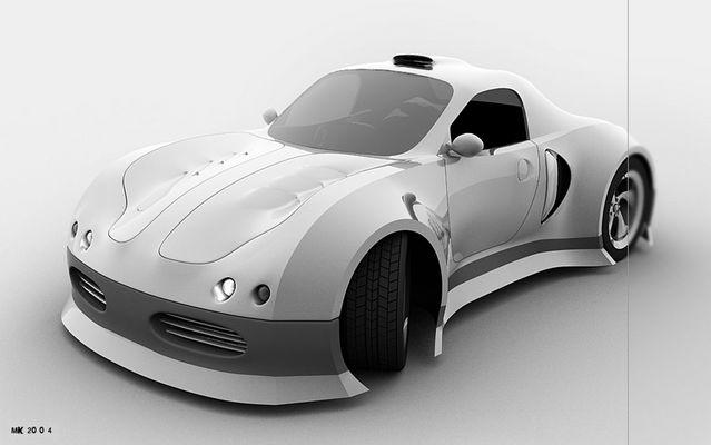 a simple car