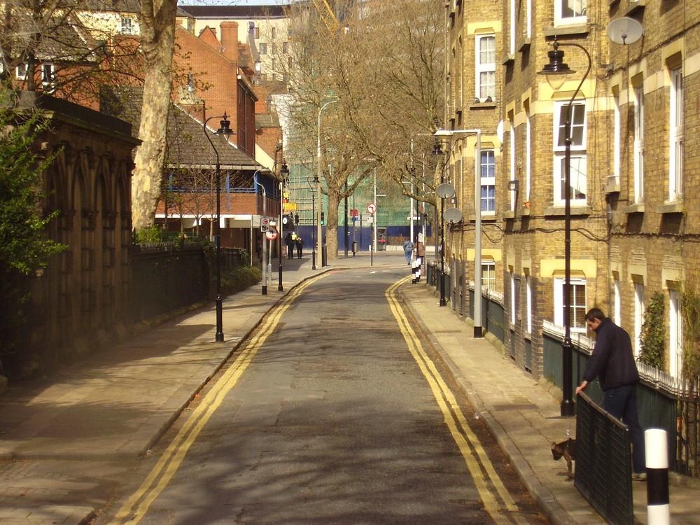 A simple little street.