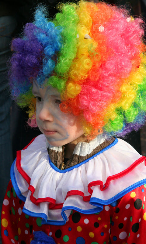 a small clown
