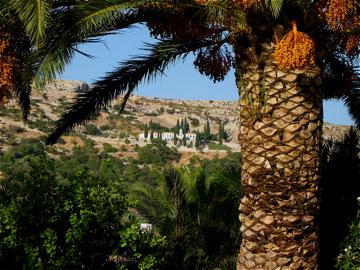 a small monastery near Pythagorio at Samos, Greece
