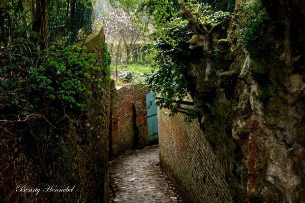 A small street of Cassel North France