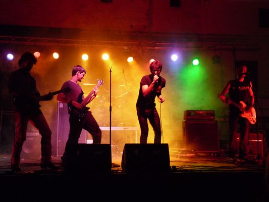 A Spanish tribute to the Rolling Stones, Capdepera, Mallorca, 2010.