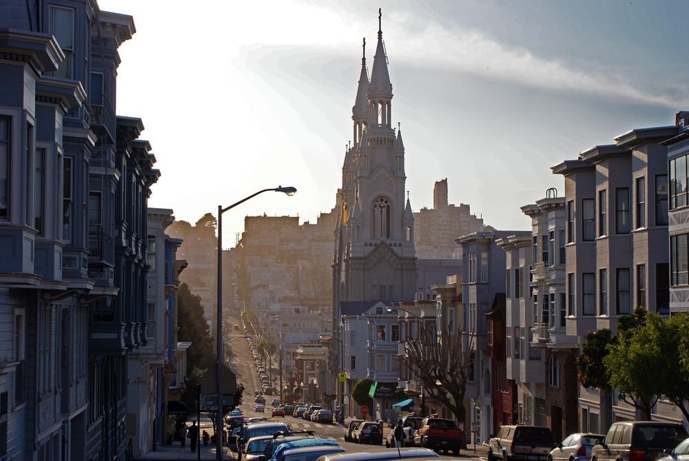 A street in San Francisco