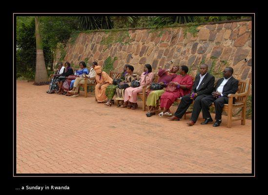 ... a Sunday in Rwanda