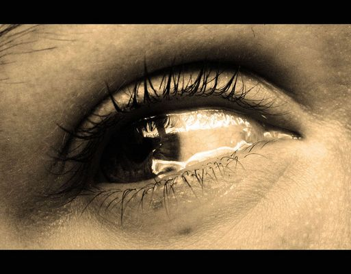 a tear in your eye.