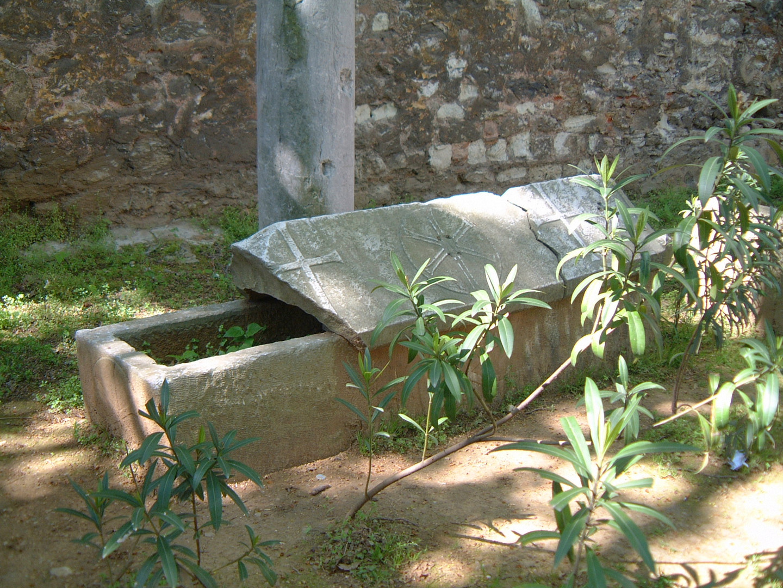 A Tomb of a Crusader near Topkapi Serai