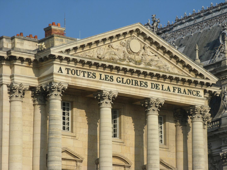 A toutes les gloires de la France.