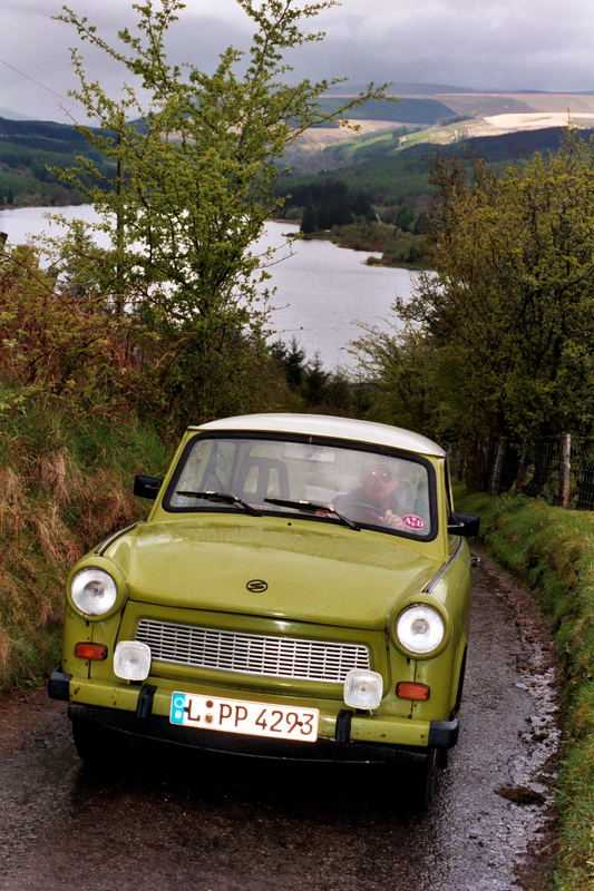 A Trabi in Wales