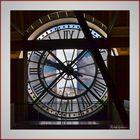A travers l'horloge de l'ancienne gare d'Orsay
